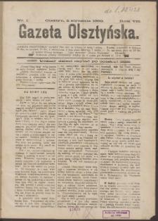 Gazeta Olsztyńska, 1892, nr 1