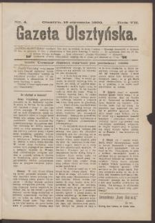 Gazeta Olsztyńska, 1892, nr 4