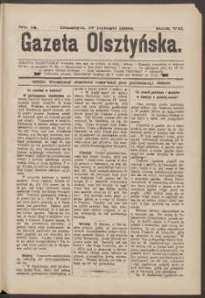Gazeta Olsztyńska, 1892, nr 14
