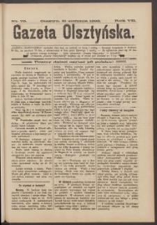 Gazeta Olsztyńska, 1892, nr 70