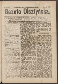 Gazeta Olsztyńska, 1892, nr 77