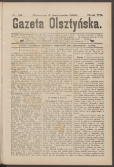 Gazeta Olsztyńska, 1892, nr 89