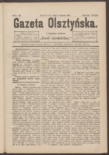 Gazeta Olsztyńska, 1893, nr 3