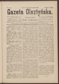 Gazeta Olsztyńska, 1893, nr 4
