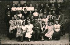 [Zdjęcie szkolne w Lidzbarku przed wybuchem wojny]