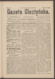 Gazeta Olsztyńska, 1893, nr 6