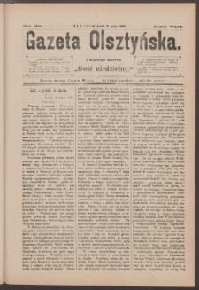 Gazeta Olsztyńska, 1893, nr 39