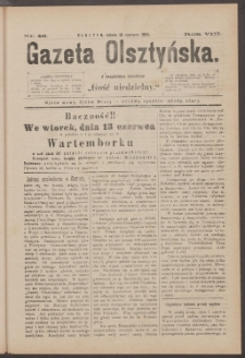 Gazeta Olsztyńska, 1893, nr 46