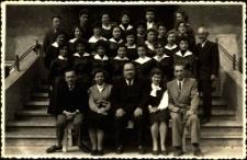 [Jedna z klas Liceum Pedagogicznego w Mrągowie. 7]