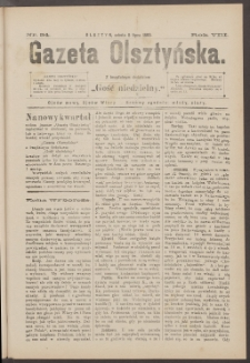 Gazeta Olsztyńska, 1893, nr 54