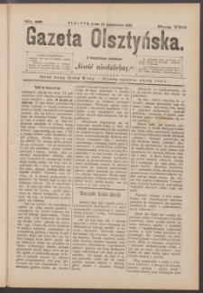 Gazeta Olsztyńska, 1893, nr 85