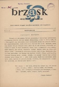 Brzask : pismo młodzieży harcerskiej Warmii i Mazur, 1961 [R. 5], nr 3/4