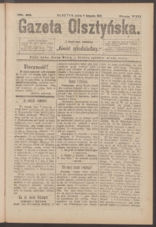 Gazeta Olsztyńska, 1893, nr 88