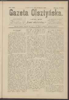 Gazeta Olsztyńska, 1893, nr 92