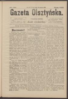 Gazeta Olsztyńska, 1893, nr 101