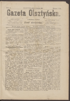Gazeta Olsztyńska, 1894, nr 2