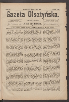 Gazeta Olsztyńska, 1894, nr 10