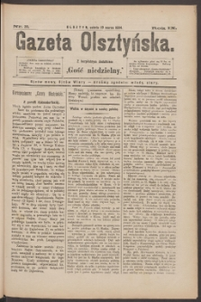 Gazeta Olsztyńska, 1894, nr 20