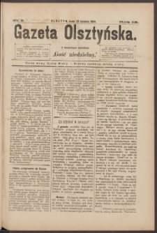 Gazeta Olsztyńska, 1894, nr 33