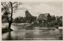 Braunsberg. Passarge. Pfarrkirche u. Schlossschule