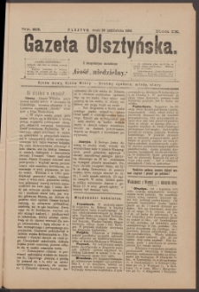 Gazeta Olsztyńska, 1894, nr 85