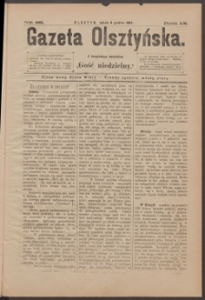 Gazeta Olsztyńska, 1894, nr 98
