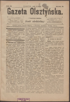 Gazeta Olsztyńska, 1895, nr 5
