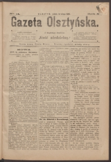 Gazeta Olsztyńska, 1895, nr 14