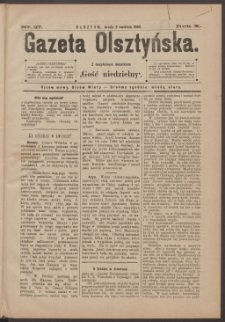 Gazeta Olsztyńska, 1895, nr 27