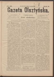 Gazeta Olsztyńska, 1895, nr 46