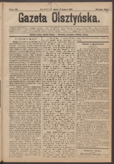 Gazeta Olsztyńska, 1896, nr 6