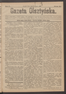 Gazeta Olsztyńska, 1896, nr 7