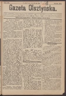 Gazeta Olsztyńska, 1896, nr 41