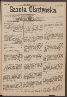 Gazeta Olsztyńska, 1896, nr 45