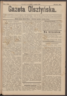 Gazeta Olsztyńska, 1896, nr 72