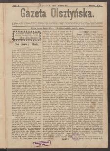 Gazeta Olsztyńska, 1897, nr 1