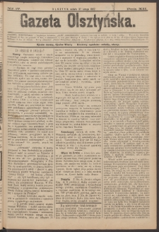 Gazeta Olsztyńska, 1897, nr 17