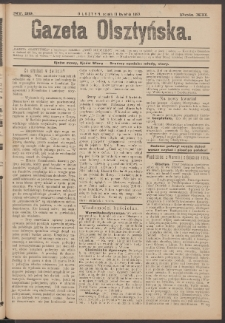 Gazeta Olsztyńska, 1897, nr 29