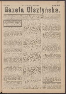 Gazeta Olsztyńska, 1897, nr 45