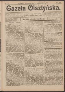 Gazeta Olsztyńska, 1897, nr 85