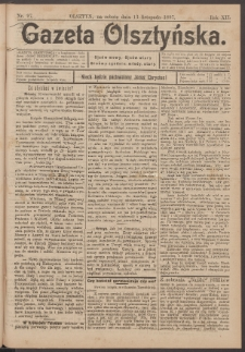 Gazeta Olsztyńska, 1897, nr 97
