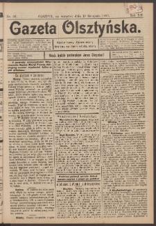 Gazeta Olsztyńska, 1897, nr 99