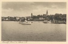 "Motorschiff ""Konrad"" vor Osterode O.Pr"