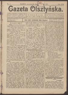Gazeta Olsztyńska, 1898, nr 3