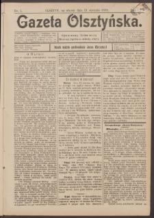 Gazeta Olsztyńska, 1898, nr 5