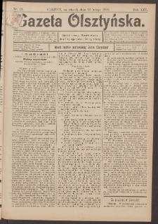 Gazeta Olsztyńska, 1898, nr 23