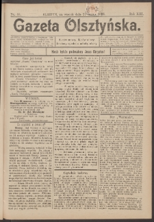 Gazeta Olsztyńska, 1898, nr 35