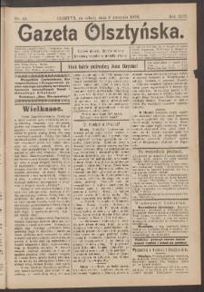 Gazeta Olsztyńska, 1898, nr 43