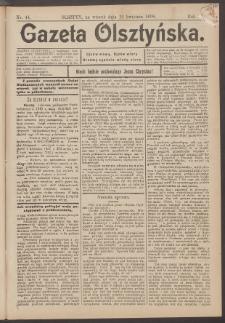 Gazeta Olsztyńska, 1898, nr 44