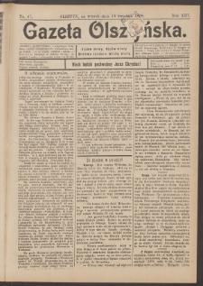 Gazeta Olsztyńska, 1898, nr 47